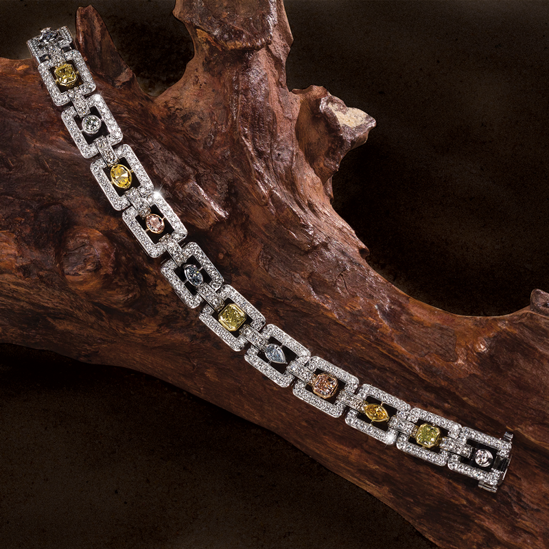 Jeffrey Daniels Fancy Diamond Bracelet