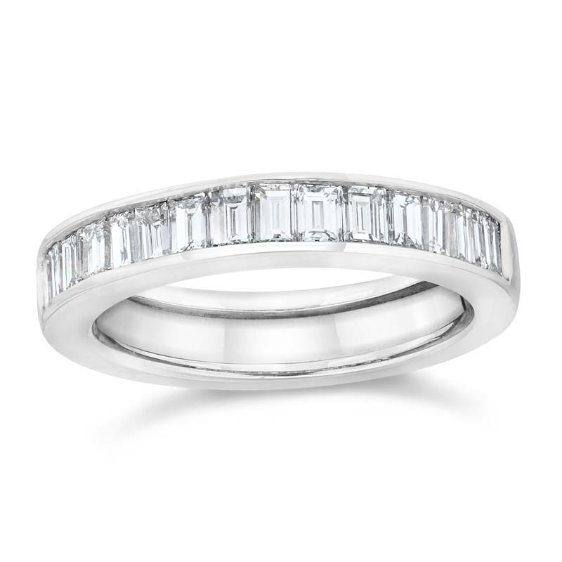 art jewelers wedding sold cut baguette diamonds band filigree eternity deco antique platinum in bands product