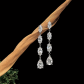 Jeffrey Daniels Long Dangle Earring