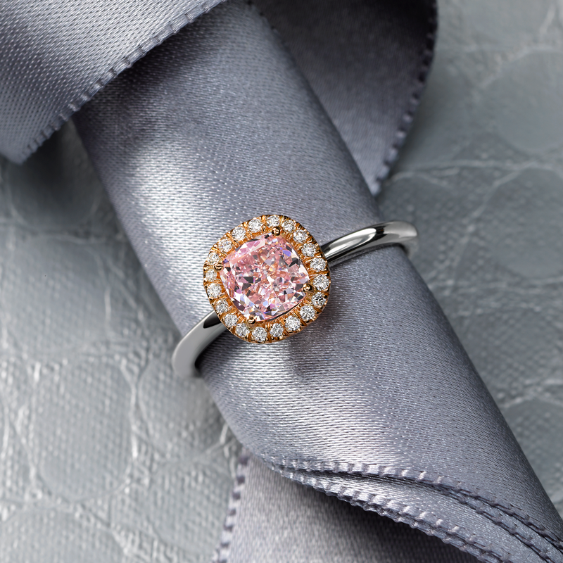 Jeffrey Daniels Pink Diamond Ring