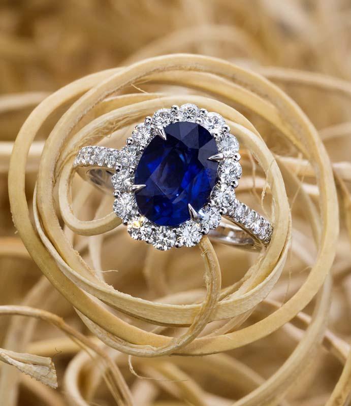 Jeffrey Daniels Sapphire Ring