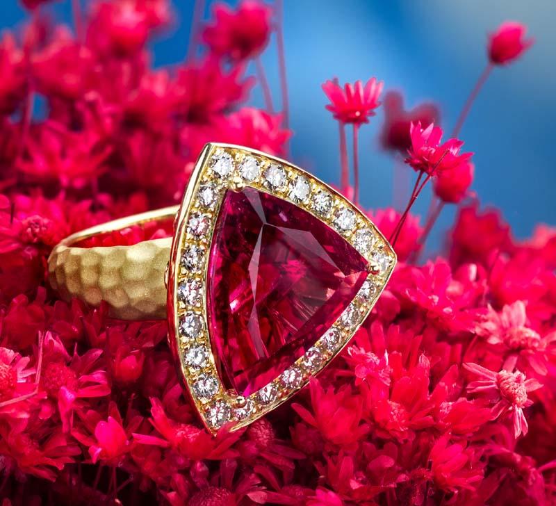 Jeffrey Daniels Rubelite Ring