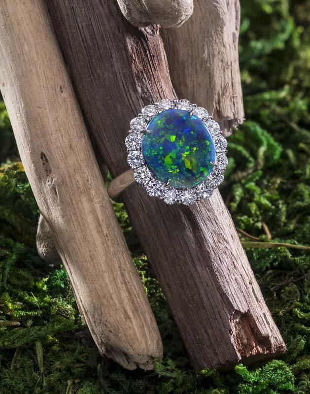 Jeffrey Daniels Opal Ring