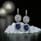 Jeffrey Daniels Sapphire Earring