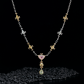 Jeffrey Daniels Fancy Color Diamond Necklace