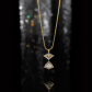 Jeffrey Daniels Yellow And White Diamond Necklace