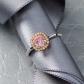 Jeffrey Daniels Pink Diamond Ring